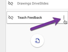 teach feedback