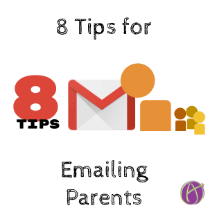 8 tips for emailing parents
