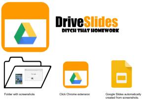 DriveSlides workflow