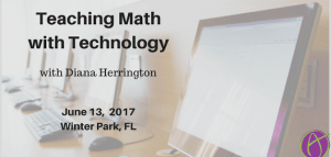 Diana Herrington teaching math