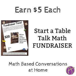 table talk math fundraiser