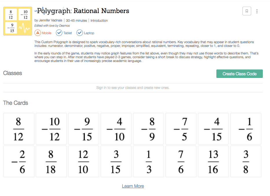 Polygraph rational numbers
