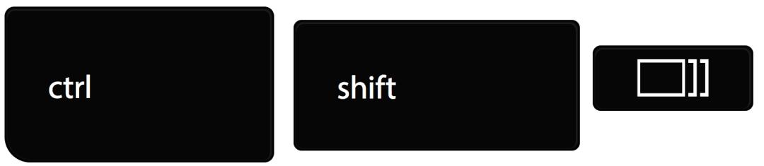 Control Shift Windows Switcher Key