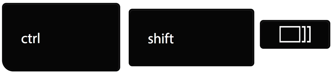 Control Shift Windows Switcher Key