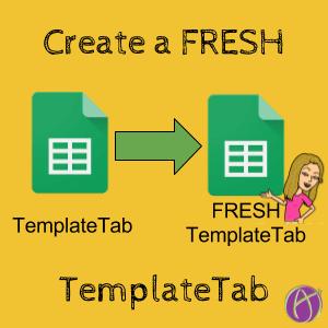 Create a new TemplateTab