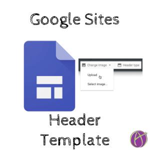 Google Sites Header Template