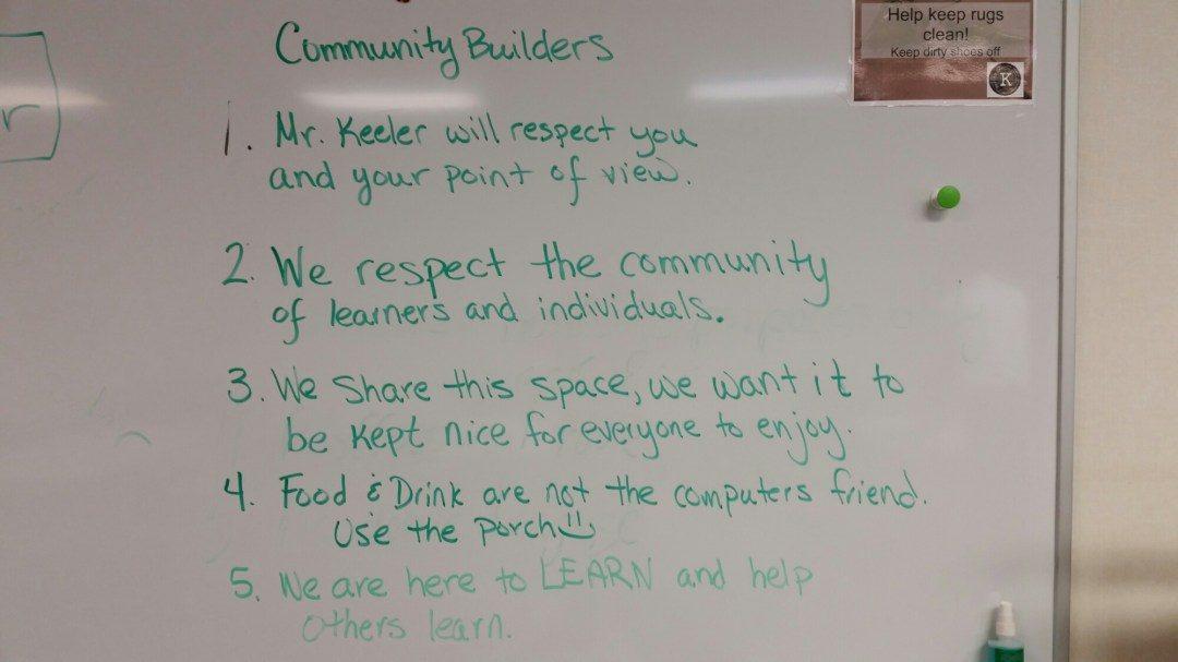 Barton Keeler Community Builders not rules
