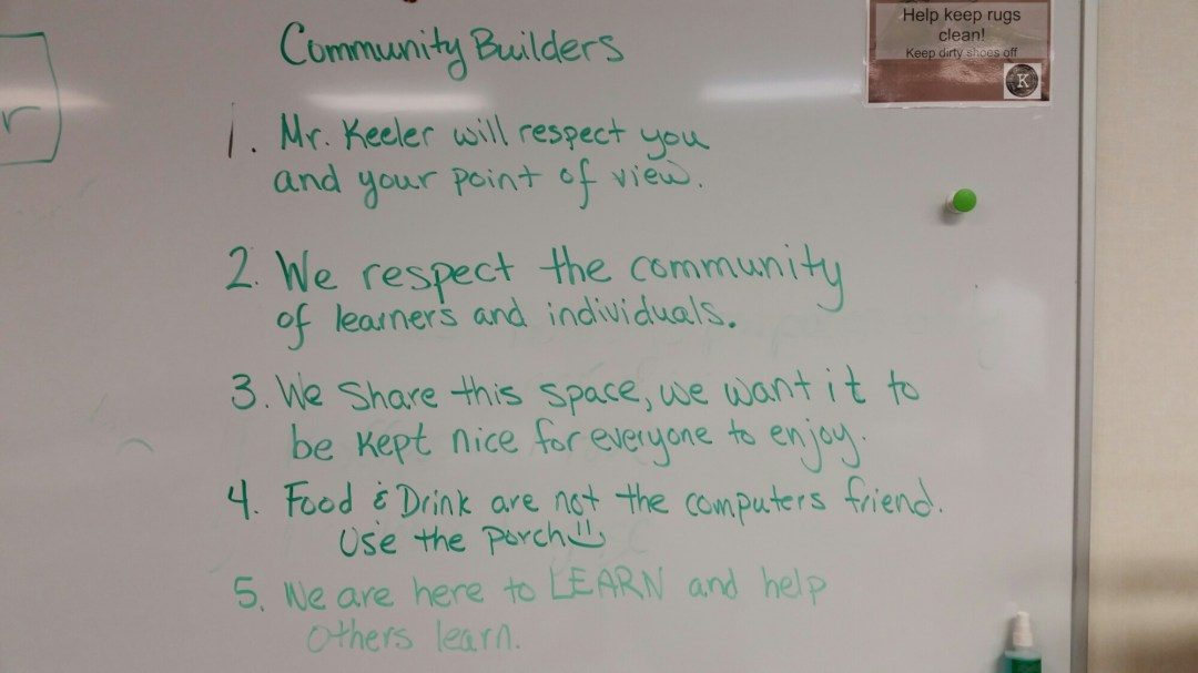 Barton Keeler Community Builders not rules