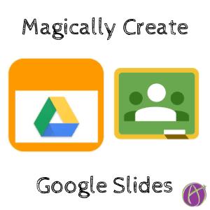 DriveSlides create Google Slides from Google Classroom screenshots