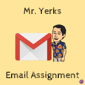Don Yerks Email Assignment