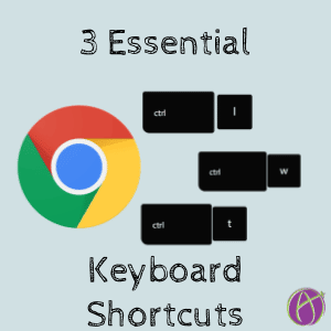 3 essential keyboard shortcuts