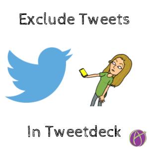 exclude tweets