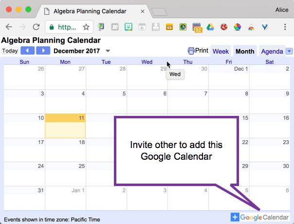 Google Calendar: Create a Curriculum Planning Calendar - Teacher Tech