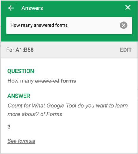 how many answered forms