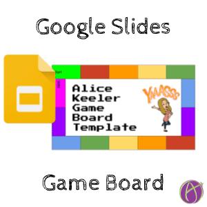 Google Slides Game Board Template Teacher Tech