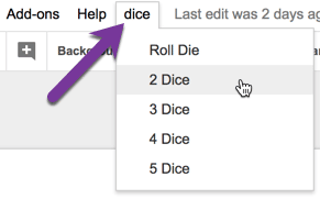 Roll Dice in Google Slides - Teacher Tech