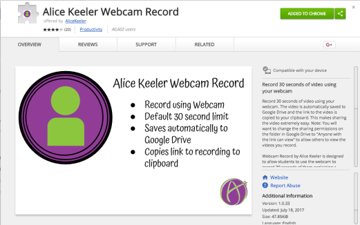 Webcam Record