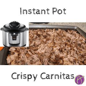 instant pot crispy carnitas