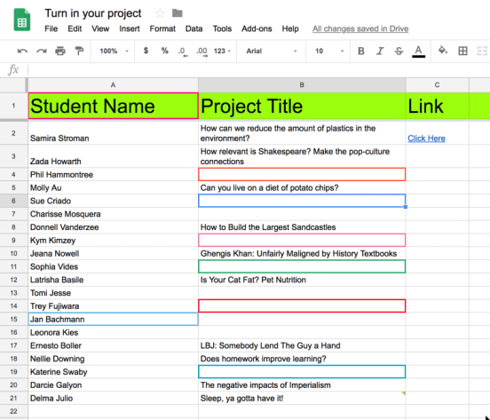 Add your project title