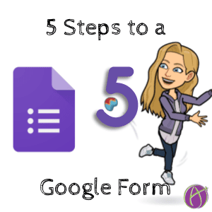 5 steps to a Google Form (1)