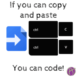 Copy Code but Use Comments
