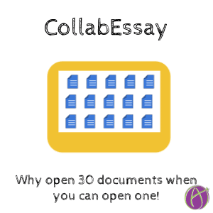 collabEssay open one document