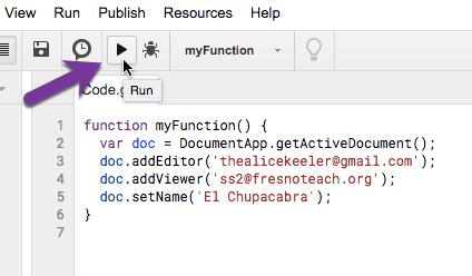 Run your code