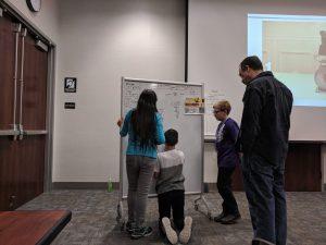 oak grove students whiteboard