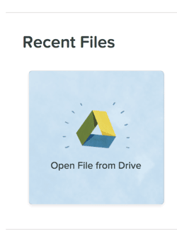Pear Deck open from Drive
