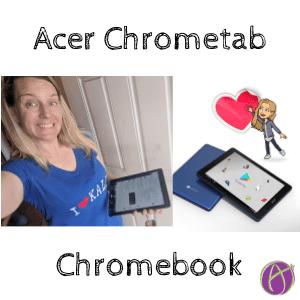 Acer Chrometab: Chromebook + Tablet