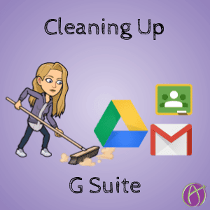 cleaning up G Suite