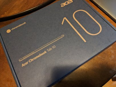 Acer Chrometab 10 in box