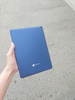 Blue background Chrometab