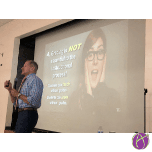 thomas guskey grading is not essential to the learning process