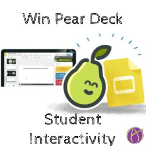 win a copy of pear deck