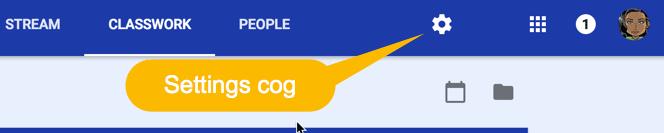 Settings Cog