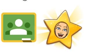Google Classroom star your originals