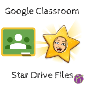 Google Classroom star your originals