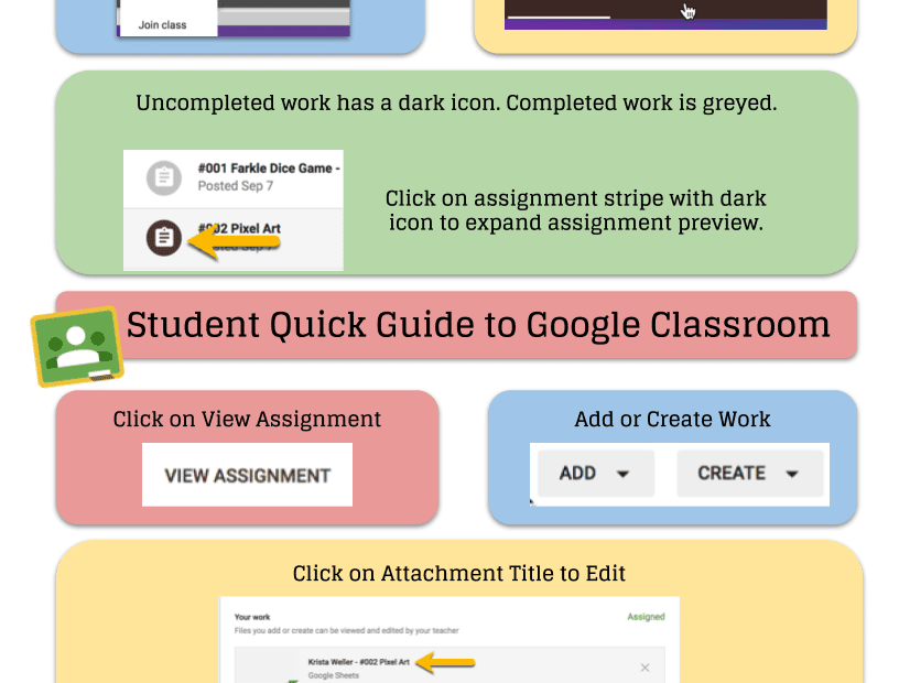 Student Quick Start Guide to Google Classroom