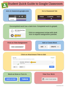 Student Guide to Google Classroom 2018 by Alice Keeler