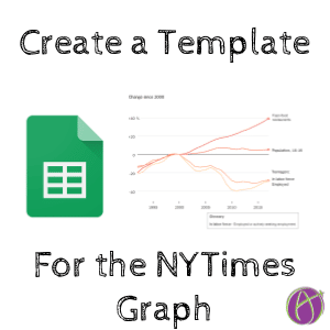 Create a google sheets template for the new york times graph