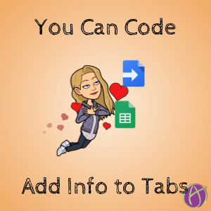 code google sheets to add info to multiple tabs