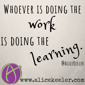Working is learning