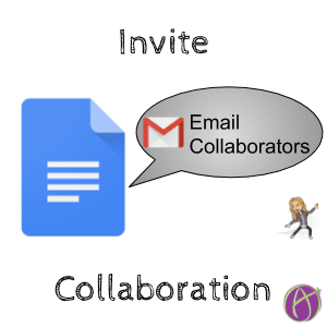 Invite collaboration with email collaborators