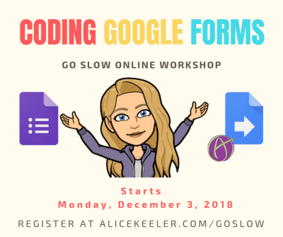 Coding Google Forms Workshop
