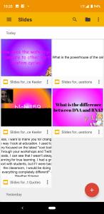 Slides App Phone
