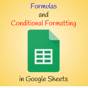 Planning Ahead with Formulas and Conditional Formatting