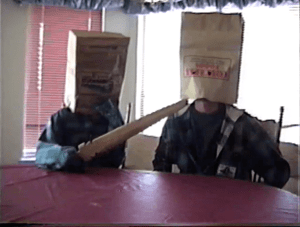 Paper Bag Mask Ransom Video