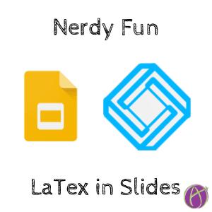 latex in google slides