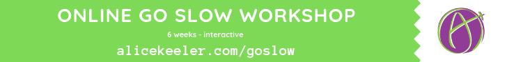 Online Go Slow Workshop